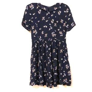 Forever 21 Peter Pan collared floral dress